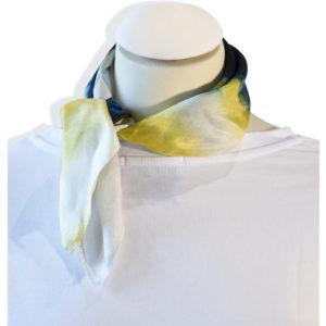 Carré de soie , foulards , tendance , coloré , été