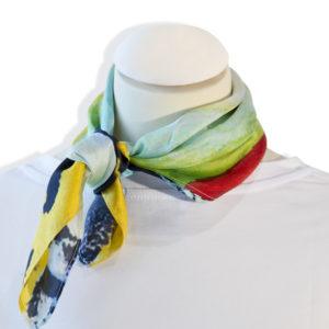 carré de soie , foulard