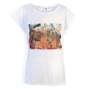 """T shirt """"ART"""" en coton avec motifs"""